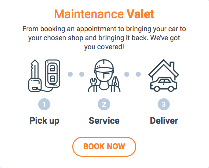 Car Maintenance Valet Service - Car Pick-up and Delivery